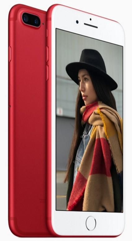 iPhone 7 Plus pris 128mb Rød